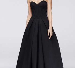 BLACK PROM DRESS OR FORMAL DRESS