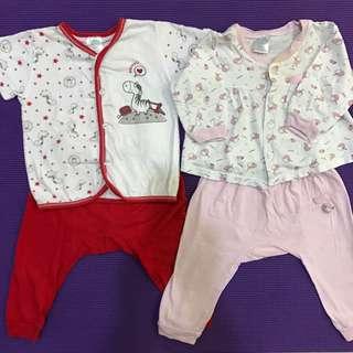 Pyjamas for 3-6 months baby girl