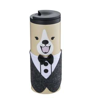 [Pre-Order] Taiwan Dog Lover Series - Tux Dog Stainless Steel Tumbler 12oz