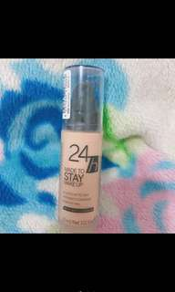Catrice waterproof Foundation 24H made to stay make up