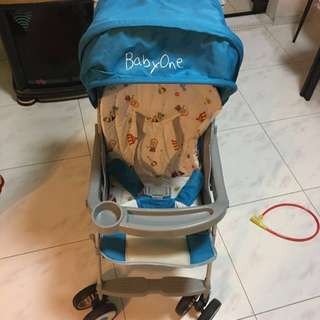 Pre loved stroller, used once only.