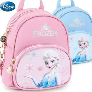 BAG COMEL FROZEN BACKPACK MURAH   RM 65 SIAP POS  #frozen #backpack #carry