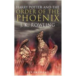 [eBook] Harry Potter and the Order of the Phoenix - J. K. Rowling