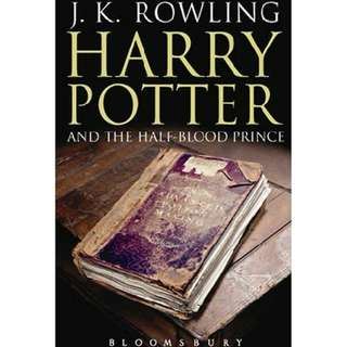 [eBook] Harry Potter and the Half-Blood Prince - J. K. Rowling