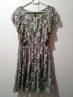 Nafnaf Floral Dress