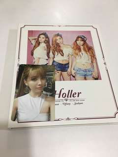 少女時代  snsd TTS Holler專輯