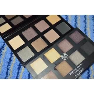 The Body Shop Down to Earth Palette