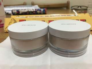 Hi ladies im selling my prelove shu uemura loose powder , one is sheer and the other one is matte its authentic