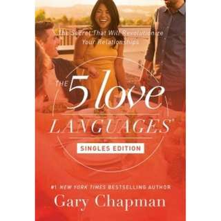 [eBook] The Five Love Languages Singles Edition - Gary D. Chapman