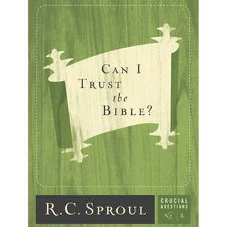 [eBook] Can I Trust the Bible - R. C. Sproul