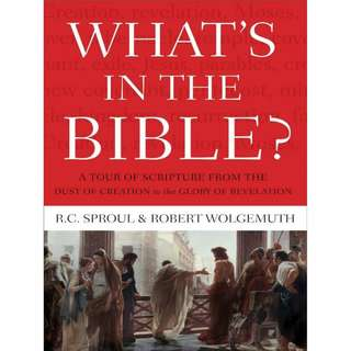 [eBook] What's in the Bible - R. C. Sproul