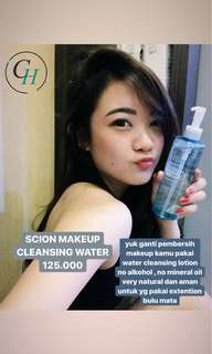 Scion Makeup Cleansing Water