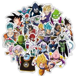 Dragon Ball Stickers 36 pcs