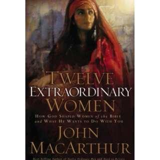 [eBook] Twelve Extraordinary Women - John MacArthur