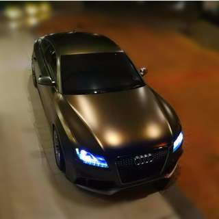 Audi S5 Supercharged 3.0 V6 (A) Convert RS5 — 3XX Hp