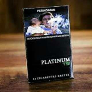 Rokok Sin platinum TSI