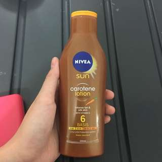 Nivea tanning new original