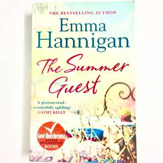 The Summer Guest by Emma Hannigan (chick lit book women fiction)