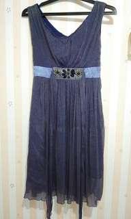 Dark Blue Dress Sifon