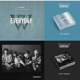 [PREORDER] WINNER (위너) - 2TH ALBUM / EVERYD4Y