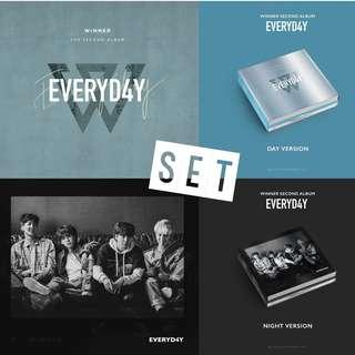 [PREORDER] [SET] WINNER - 2TH ALBUM / EVERYD4Y