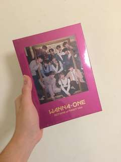 WANNA ONE REPACKAGED ALBUM NOTHING WITHOUT YOU