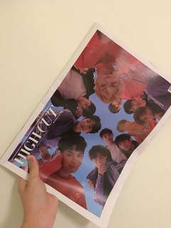 Highcut Wanna One Issue