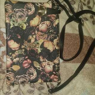 SALE! Floral Clutch Sling Bag