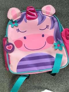 Stephen Joseph kids (girl) backpack (Wan to exchange for Boy colour)