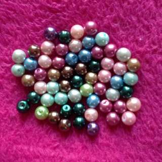 🔮 60 Pcs Assorted Pearl Beads