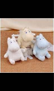 正版授權 嚕嚕米 13公分 吊飾 娃娃 玩偶 公仔 絨毛娃娃 Moomin