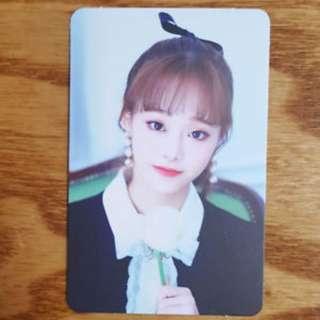 WTB/WTT/LF Loona Monthly Girl Chuu Photocard