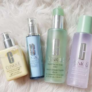 Clinique 3 step cleanse