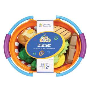Preorders : Learning Resources LER9732 New Sprouts Dinner Basket @ $39.90 - 20% off Retail Price!!! ETA June 2018!