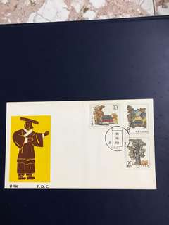 China stamp 1983 T84 FDC