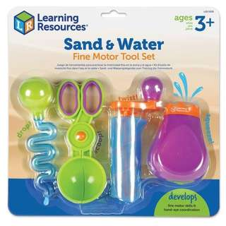 Ready Stock!!! Learning Resources LER5559   New Sand & Water Fine Motor Set @ $23.90 - 20% off Retail Price!!! ETA June 2018!