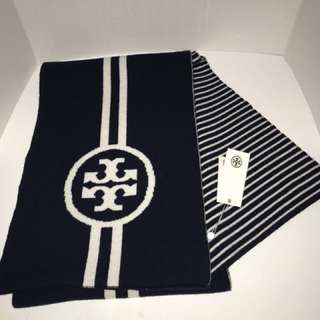 *reduced* NWT Tory Burch Scarf (Reversible)