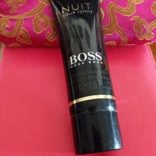 Hugo boss perfume body lotion