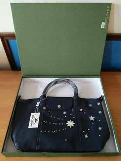 Longchamp leather with box