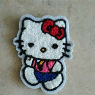 Hello Kitty Sew On Patch