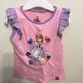 Disney Sofia girl top
