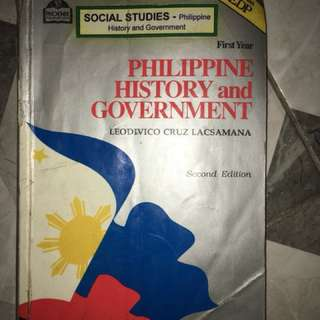 Philippine history and Goverment