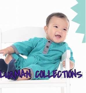 Romper Baju Melayu Baby