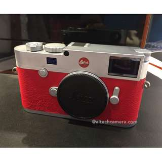 (PRE-ORDER) Leica M10 Digital Rangefinder Camera Body Only (Customized Red Leather)