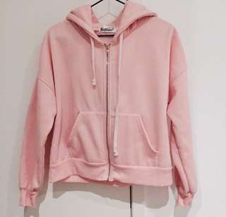 Baby Pink Hoodie - XS