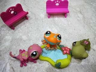 LPS Littlest Pet Shop Park Set