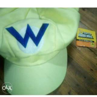 Original super Mario bros merch Wario cap Cosplay Collection