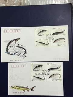 China Stamp 1994-3 A/B FDC