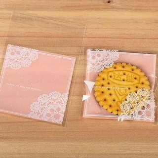 烘培曲奇餅乾糖果包裝自封膠袋(20pcs)