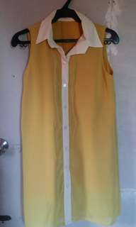 Preloved Yellow Dress